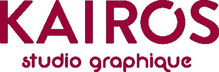 Logo Kairos studio graphique